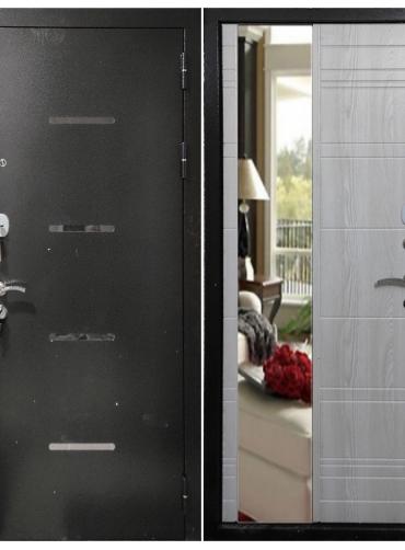 Дверь входная «СИТИ»,Зеркало «ЮДМ»