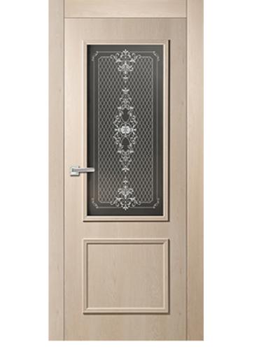 Дверь Дайра ДО \ дуб эдисон молочный