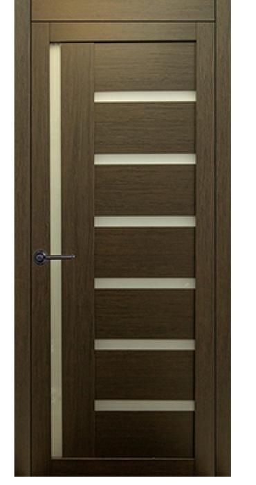 Дверь КЛ 17\1 орех темный
